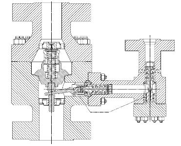 Zawór minimalnego przepływu MRM/MRK